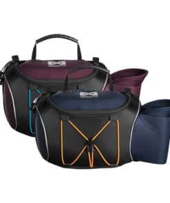 Non-Stop Dogwear Trekking Belt Bag i blå och lila