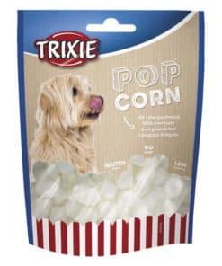 Trixie Popcorn med Leversmak (100g). Perfekt hudgodis till fredagsmyset.