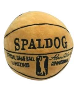 FuzzYard Spaldig Mjuk hundleksak i plysch i form av en basketboll.