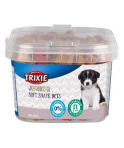 Trixie Junior Soft Snack Dots med Omega-3 i plasthink, 140g