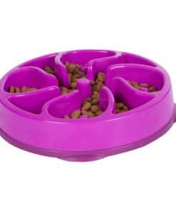 Outward Hound Fun Feeder Slo Bowl Medium/Mini Lila